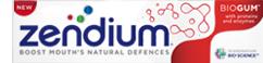 Zendium: οδοντόκρεμα Biogum